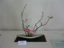 Moribana aufrechte Form