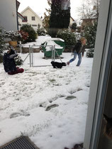 Schneeee, Domiiiii und Miiihiiiisch!!!