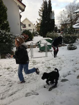 Schneeee, Domiiiiii, Miiihiiiisch und Rennen! Yeah!