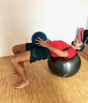 Hip Thrust mit Zusatzgewicht - Anheben, Halten, Absenken