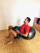 Hip Thrust mit Zusatzgewicht