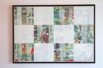 013 - Acryl auf Leinwand (Schattenfugenrahmen) / 100 x 70