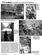 Le jardin St Vincent, page photo pour le 18ème du mois.