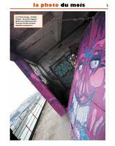 Canal, journal municipal de Pantin, mars 2014. dépose des graff aux anciens magasins généraux