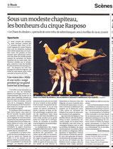 Le Monde Aout 2009