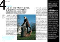 Straddan°24- Mai 2012- Article sur Alexandre Fray et ses portés de grand-mères...