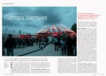 Stradda n°26, octobre 2012, article sur le Cirque Electrique