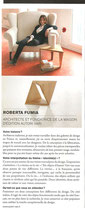 Portrait de Roberta Fumia / Autori Vari dans Arts Magazine juin 2012