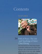 Shambhala Sun Magazine, Mai 2012. Portrait de Soeur Chan Khong