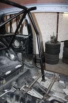 Sitzkonsole eingeschweißt