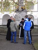 Im Gespräch mit den Mönchen