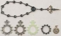 Diferentes tipos de rosarios católicos de 10 cuentas