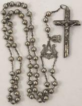 Rosario católico para contar sin perder la concentración en el rezo, 50 cuentas