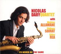 Nicolas Dary (saxophone),Gilles Rea (guitare), Mathias Allamane (contrebasse), Philippe Soirat -2008
