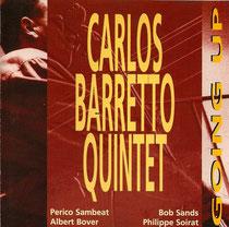 Carlos Barretto (contrebasse), Perico Sambeat, Bob Sands (saxophone), Albert Bover (piano), José Salgueiro (percussions), Philippe Soirat - 1996