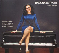Ramona Horvath (piano), André Villéger (saxophone), Nicolas Rageau (contrebasse), Philippe Soirat - 2017