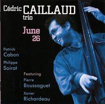 Cedric Caillaud (contrebasse), Patrick Cabon (piano), Pierre Boussaguet (contrebasse), Xavier Richardeau (saxophone), Philippe Soirat - 2006