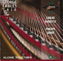 George Cables (piano), Carlos Barretto (contrebasse), Philippe Soirat - 1995