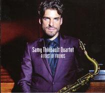 Samy Thiébault (saxophone), Adrien Chico (piano), Sylvain Romano (contrebasse), Philippe Soirat - 2015