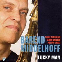Barend Middelhoff (saxophone), Pierre Christophe (piano), Cedric Caillaud (contrebasse), Philippe Soirat - 2011