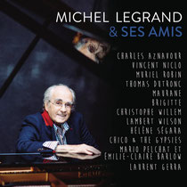 Michel Legrand (piano), Pierre Perchaud/Chico & The Gipsies (guitares), Pierre Boussaguet (contrebasse), Philippe Soirat 2015