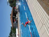 Sortie piscine