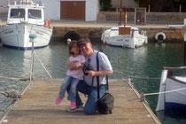 Bootsexperten im Hafen unter sich