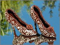 Schokoladen High Heels