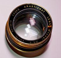 Ottica 240 mm F: 5,6/45 Coke Anastigmat TAYLOR &  HOBSON - Leicester- London - New York