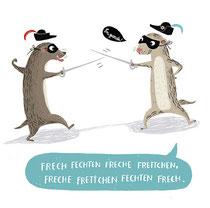 Kinderbuchillustration von Tina Schulte