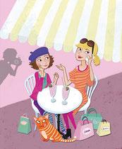 Kinder- und Jugendbuchillustration von Tina Schulte
