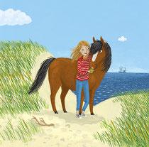 Jugendbuchillustration Tina Schulte