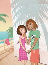 Jugendbuchillustration Tina Schulte / Kinderbuchillustration