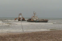 an der Skeleton Coast