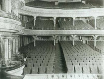 the auditorium of the Knickebocker Theatre