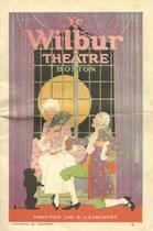 Ye Wilbur Theatre Boston program (Thanks to Janine)