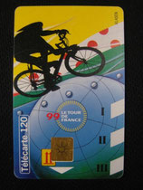 Carte Tour de France 1999 120u