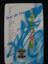 Carte Tour de France 1998 120u