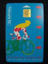 carte Tour de France 1996 50 u