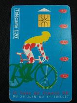 Carte Tour de France 1996 120 u