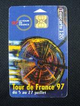 Carte Tour de France 1997 120u