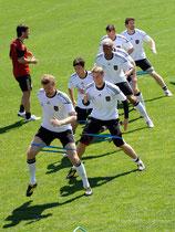 Trainingslager Deutsche Fussball Nationalmannschaft Eppan (Südtirol ) 2008