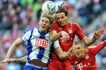 Bayern München vs. Hertha BSC 2011
