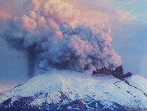 Volcan Ruapehu (éruption de 1995)
