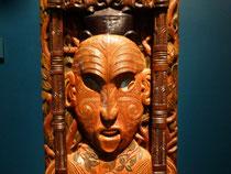 Te papa  -  sculpture Maori