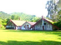 Communauté Maori le long de la Whanganui River