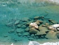 eau glaciaire
