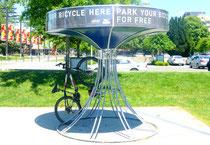 Gain de place pour parquer les vélos