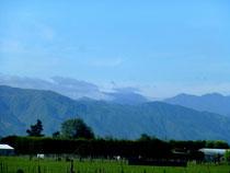 Levin, au pied de la montagne