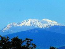 volcan Ruapehu (encore en activité)